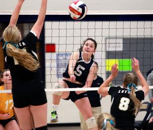 WIAA volleyball: Aquinas blanks Luther