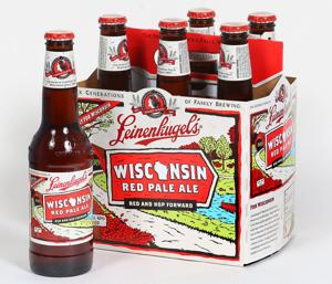 Brew and a Bite: Wisconsin gets red carpet treatment with Leinie's new red pale ale