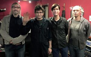 Area band hits the studio with famed producer