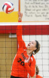 Lady Tiger volleyball gets playoff victory