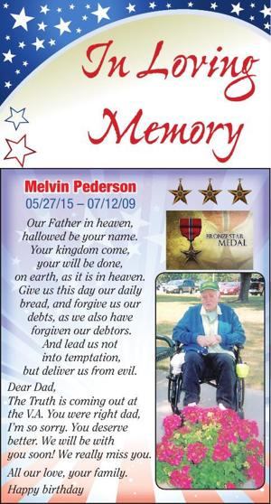 Melvin Pederson