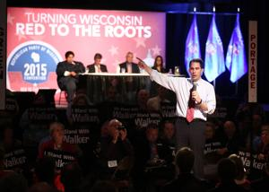 Convention delegates cheer potential 45th president