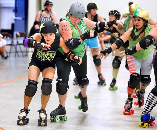 Roller derby going strong after seven years