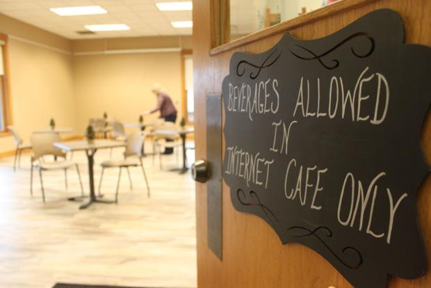 Black River Falls library creates new internet cafe