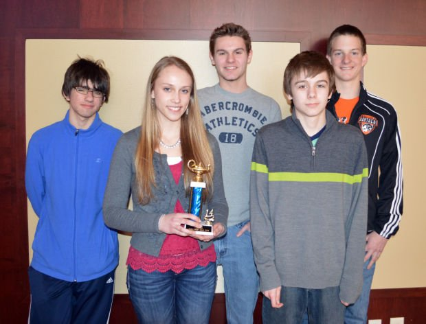 Smart kids add up to math event win
