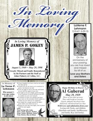 La Verne F. Lehmann; James P. Gokey; Al Guberud