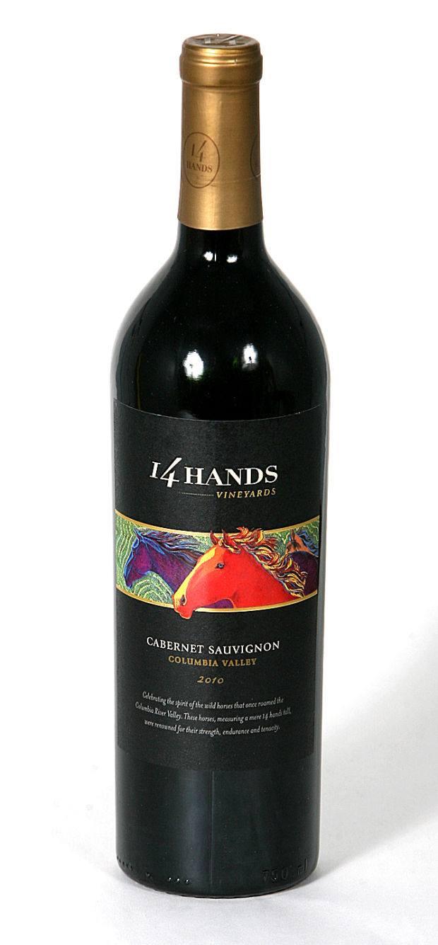 wine of the week  14 hands cabernet sauvignon 2010