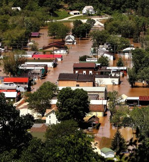 Even more water: Floods likely as storm adds rain to melting snow