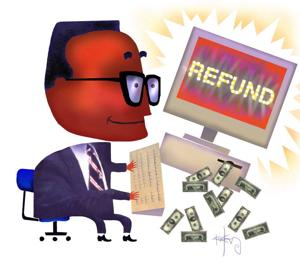 Tax refund waiting: Local folks owed money from IRS