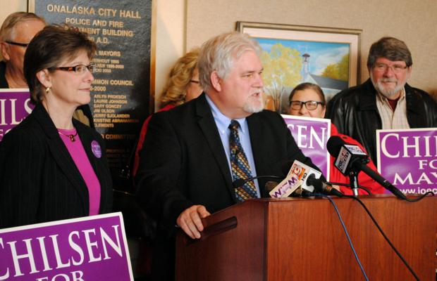 Chilsen launches write-in campaign