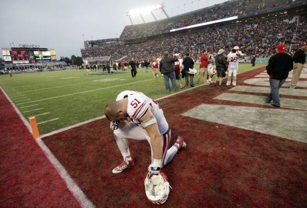 Photos badgers come up short at capital one bowl college sports