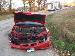 Head-on collision in town of Kickapoo