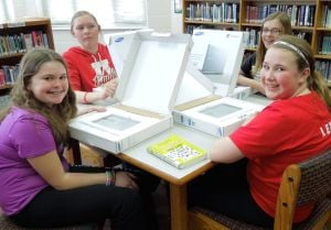 Westby Area Middle School 7th-and 8th-graders receive Chromebooks