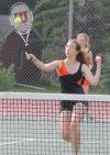 Blackhawk girls tennis team strives for improvement