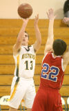 Mustang basketball edges past Eagles