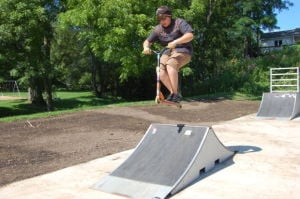 Bangor skatepark up and running