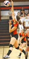 Viroqua volleyball team wins in five games over Luther