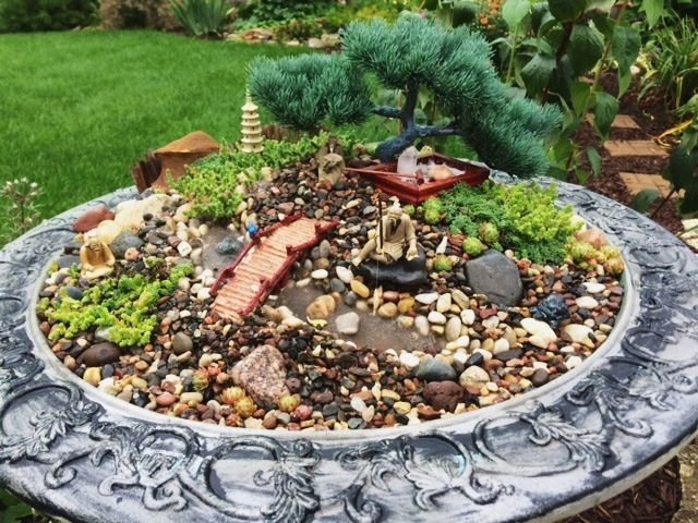 Miniature gardens are a whimsical low maintenance trend for Garden miniatures