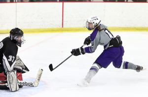 Reeves' hat trick powers Hilltoppers