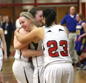 Central girls one game away from state tournament