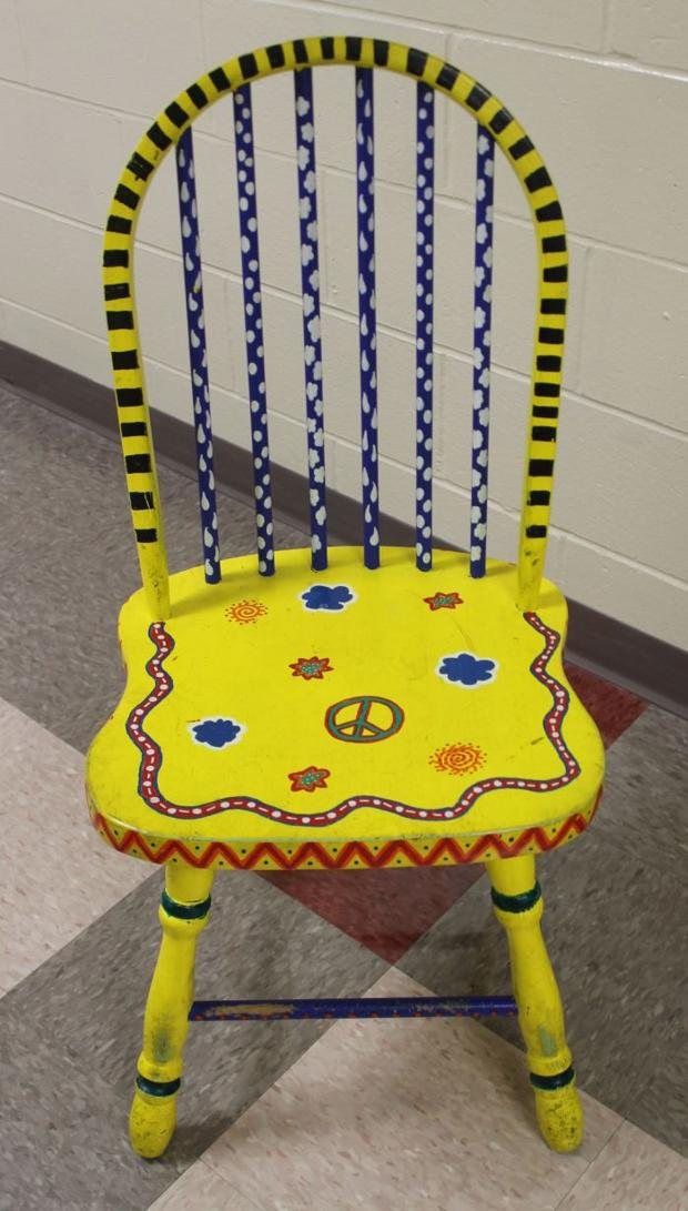 Aritsts, groups sought to decorate chairs for library fundraiser