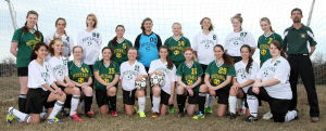 Mel-Min girls soccer team makes varsity debut