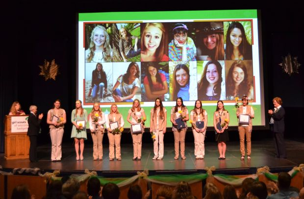 Tomah Girl Scout receives Gold Award for project