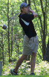 Hewuse soars at state golf meet