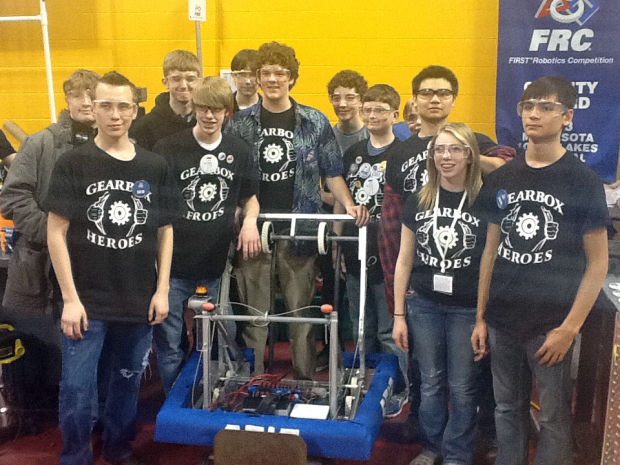 Rookie robotics team makes national finals