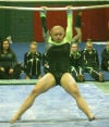 Gymnasts top Caledonia in first home meet