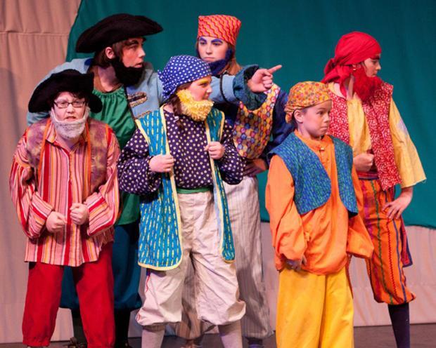 MCT recruiting area kids to stage 'Blackbeard'