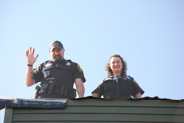 Cops on the Rooftops