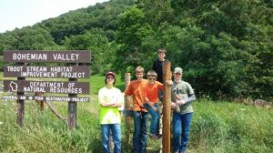 Troop 75 Scout completes Eagle service project