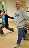 Rehab helps TMH patient walk big, speak loud