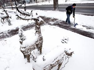 Photos:  Snowy day in La Crosse