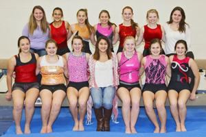Westby gymnasts work to fine tune routines