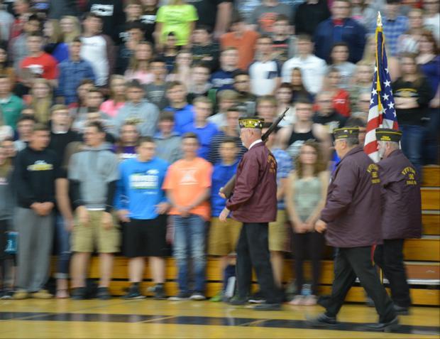 A celebration for veterans