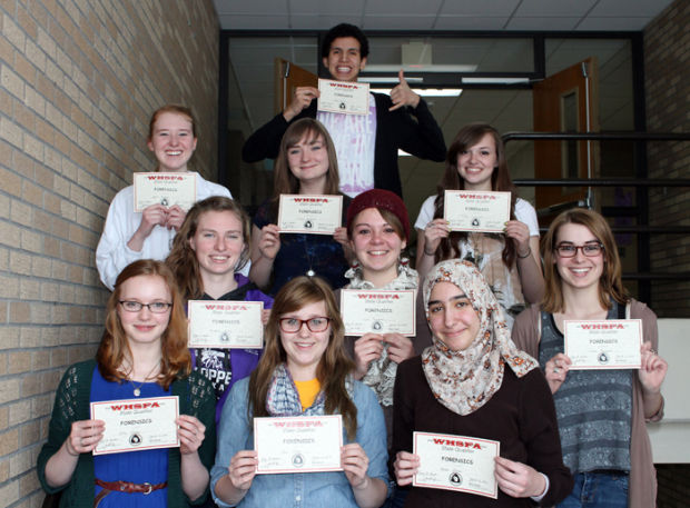 forensics students advance to state courierlifenews