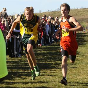 Melrose-Mindoro freshman harrier off to state
