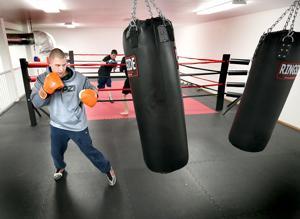 Photos: Mixed Martial Artist Austen Heidlage