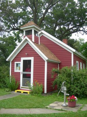 Little Red School House opens Wednesday