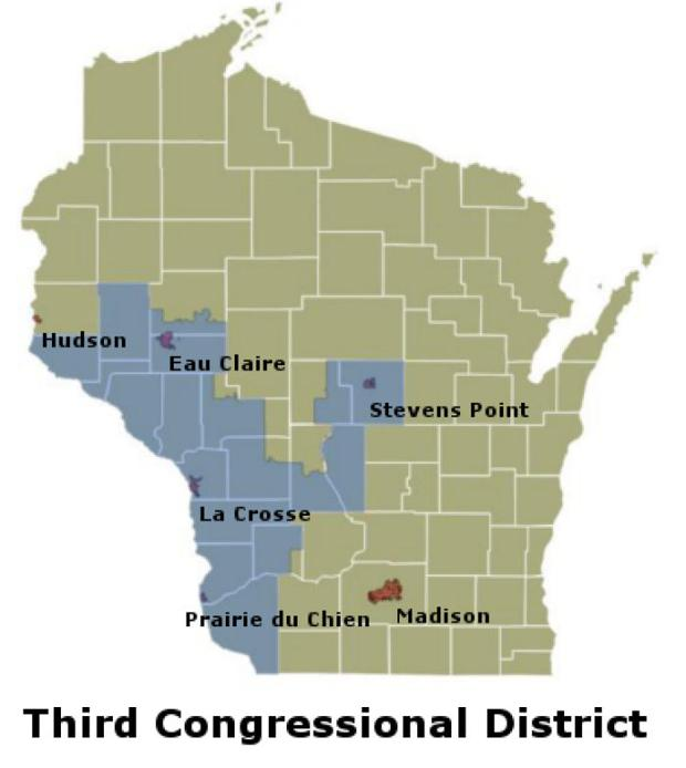 Congressional District Map Wisconsin Swimnovacom - Boundary map for wisconsin 2nd district us house of representatives