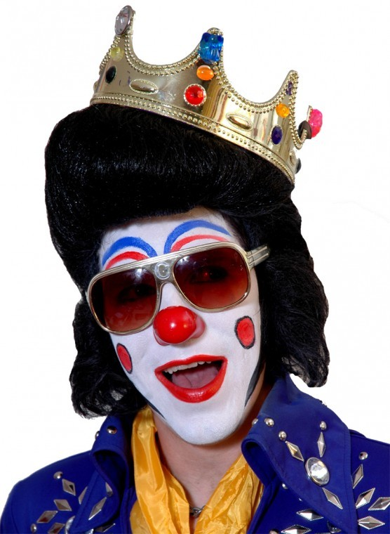 Clown Elvis, or Clownvis, Plays the Redwood | Arts and ...