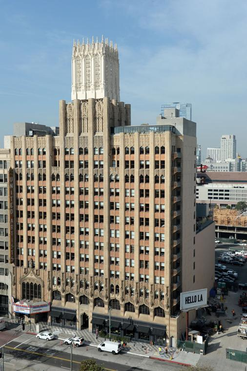 Bird Watching And Drinks At Ace Hotel Los Angeles Downtown News For Every