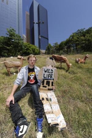 The Artists Behind the Civic Center Sunbathers and the Grazing Downtown Deer
