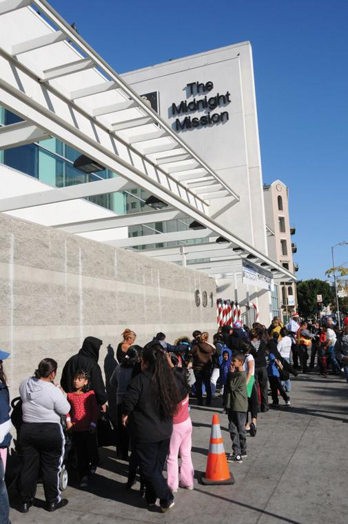 New challenges for shelters and missions as money flows to for Los angeles homeless shelter