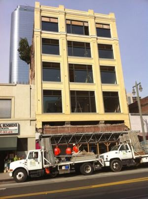 Broadway Building Façade Revealed