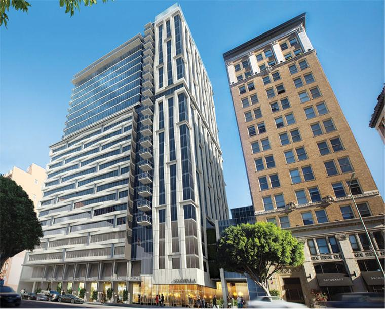 New Details Revealed For Downtown Housing And Hotel Projects Los Angeles Do