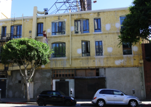 Boutique hotel planned for former spring street brothel for Boutique hotels downtown los angeles