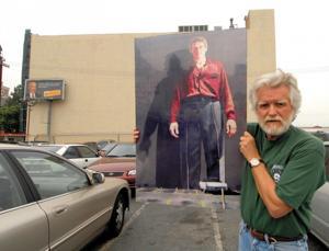 For Muralist Kent Twitchell, It's Artwork Lost, Artwork Found